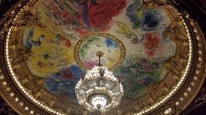 marc chagall ceiling in auditorium picture of palais garnier