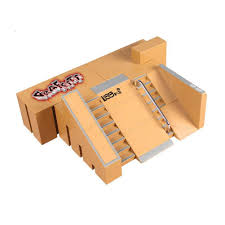 Tech Deck Finger Skateboard Tricks by Amazon Com Kidsdream 5pcs Skate Park Kit Ramp Parts For Tech Deck
