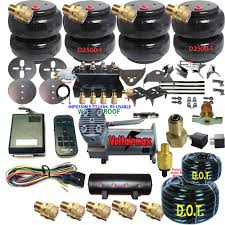 100 Truck Air Suspension MINITRUCK KitCOMPLETE Uhave Coilsprings 4LINK