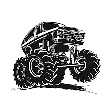 Creative Vinyl Adhesive Art Wallpaper Large Size Funny Monster Truck ... Quadpro Nx5 Remote Control Car 2wd 120 Scale Monster Truck 8yearold Kid Kj Drives Monster Trucks Like A Pro Deseret News Haunted House Scary Garage Popular Pictures To Color Coloring Pages Easy Trucks 2260 Truck Stunts Games For Kids Cartoons And Large Rc Kids Big Wheel Toy 24 Printable Pt9f Free Amazoncom Hot Wheels Jam Giant Grave Digger Mattel Rev The Up At Out About With Mcqueen For Children Video Youtube Bestchoiceproducts Best Choice Products 24ghz High
