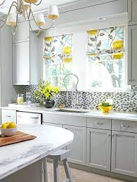 Yellow And Grey Kitchen Decor Ideas Gray Cabinets Accessories