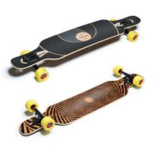 Skateboard With Longboard Trucks And Wheels Youtube Pertaining To ...