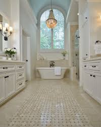 Chandelier Over Bathroom Sink by Before U0026 After Wall Sconces Tubs And Mosaics