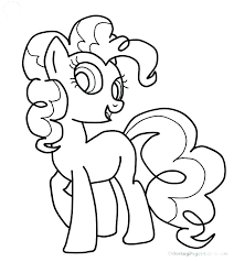 My Pretty Pony Coloring Pages Little Book Pie Page Pinkie