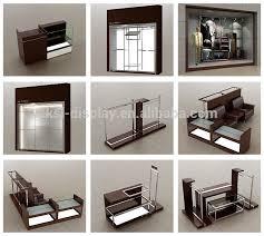 2015 KSL Display Mens Clothing Shop Fixtures Wall Shelf Design Dress