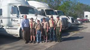 100 Truck Transportation Merit Badge Raven Transport On Twitter Members From Troop 821 Visited Ravens
