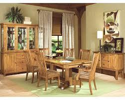 Intercon Solid Oak Dining Set Highland Park INHP4296SET