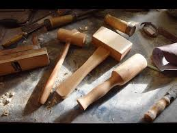 making 3 types of mallets for woodworking youtube