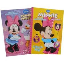 Minnie Mouse 96 Page Coloring And Activity Book