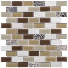 shop elida ceramica brick mosaic and glass travertine
