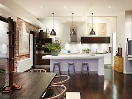New York Loft Kitchen Design For Goodly Best Ideas Images On Perfect