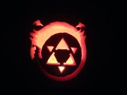 Dragon Ball Z Pumpkin Carving by My Pumpkin This Year Ouroboros From Fma Fullmetalalchemist