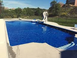 Inground Pools With Diving Board And Slide Excellent 2