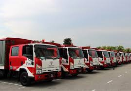 Isuzu Malaysia Delivers New ELF NPR Light Trucks To Tenaga Nasional ...