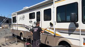 Zep Floor Polish On Fiberglass by Our Rv Exterior Gets Cleaned And Waxed By The Detail Gal Youtube