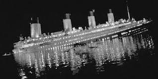 Titanic Sinking Simulation Real Time by Time Line
