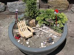 Image Of Miniature Garden Furniture Ideas