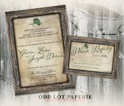 Rustic Fishing Printable Wedding Invitation And RSVP Lure