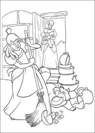 Cinderella Coloring Page 10 Is A From BookLet Your Children Express Their Imagination When They Color The