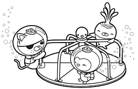 Free Printable Octonauts Coloring Pages