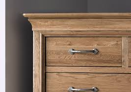 French Style Versaille Rustic Oak 3 2 Chest