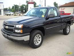 100 Single Cab Chevy Trucks For Sale 2006 Chevrolet Silverado 1500 Regular 4x4 In Dark Blue