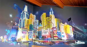 chambre enfant york graffiti fresque chambre enfant halltimes graffeur toulouse