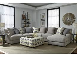 Franklin Barton Sectional Sofa with 5 Seats and Chaise Virginia