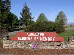 Ashelawn Gardens of Memory Cemetery Asheville Bun be North