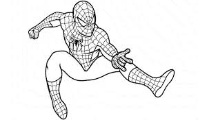 Spiderman Coloring Pages Paint
