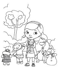 Full Image For Doc Mcstuffins Printable Coloring Pages Sheets