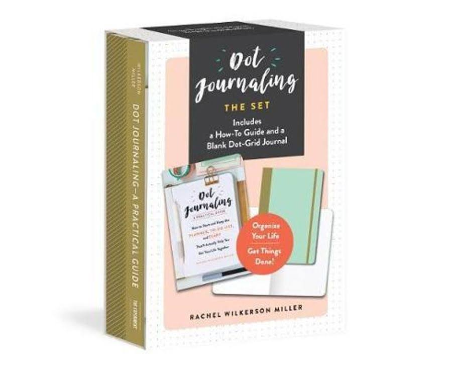 Dot Journaling The Set: Includes a How-To Guide and a Blank Dot-Grid Journal - Rachel Wilkerson Miller