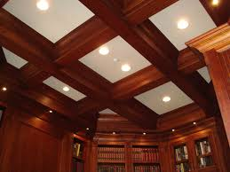 library ceiling design chad reitan fine woodworking inc new