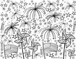 Printable 4th Of July Coloring Pages And Other Summer Themes From Xolp On Etsy