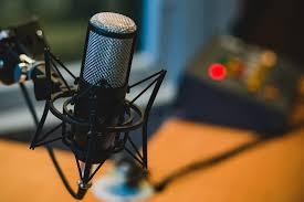 Microphone Audio Recording Podcast