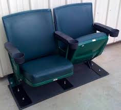 Padded Stadium Chairs For Bleachers by Old Busch Stadium Cardinals Club Seats Collectible Memorabilia