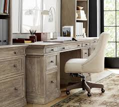 Pottery Barn Office Desk Accessories by Home Office Desks Writing U0026 Craft Tables Pottery Barn With