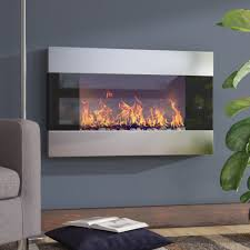 Beachcrest Home Cameron Electric Fireplace & Reviews