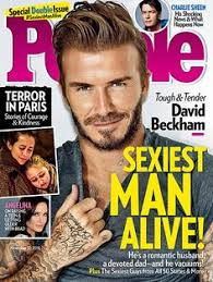 David Beckham Is PEOPLEs Sexiest Man Alive