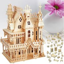 184Pcs1 Set Vintage Wooden Furniture Dolls House Miniature For