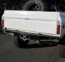 REAR BUMPER W/ HITCH - FITS CHEVY GMC K5 BLAZER & TRUCK 1968-1972 ...