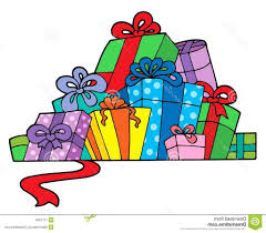 best hd pile of birthday presents clipart various ts image 1024x893