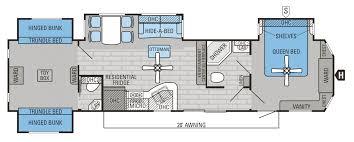 2010 Jayco 5th Wheel Floor Plans by Bold Idea Jayco Floor Plans 2015 2 Eagle Travel Trailers