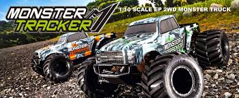 KYOSHO RC MODEL MONSTER TRACKER - Banner