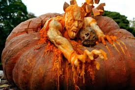 Scariest Pumpkin Carving by 16 Disgustingly Creepy Pumpkin Carvings Some Of These Are Just
