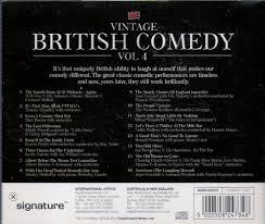502208247348 Vintage British Comedy Volume 4 Assorted Artists 16 Track Audio CD