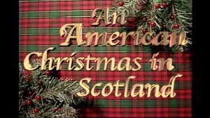 Christmas Decorations On George Street Edinburgh Scotland Stock
