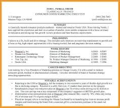 Example Resume Summary Statement Impact Examples Of Resumes Entry