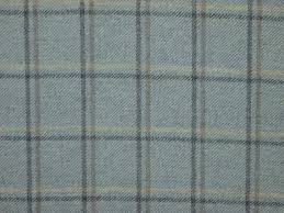 Fabric For Curtains Uk by Highland Wool Tartan Tweed Duck Egg Fabric Curtain Upholstery