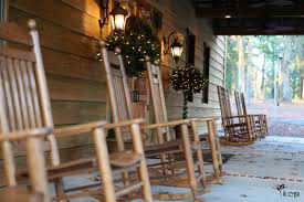Front Porch Rocking Chairs - The Belle House